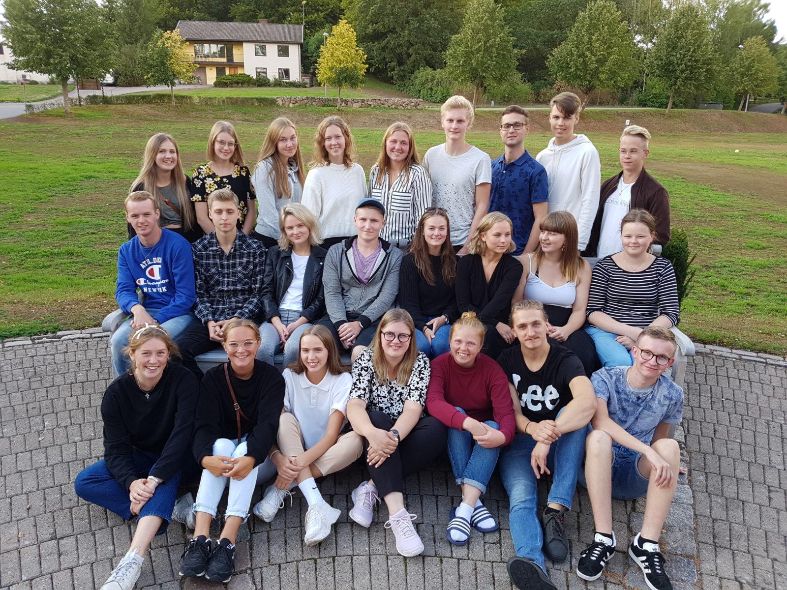 Ny klass på bibelskolan
